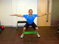 Lateral Crab Steps